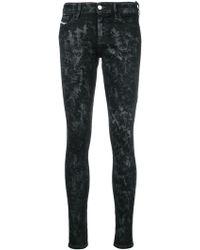 DIESEL - Slandy 069cp Skinny Jeans - Lyst