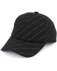 9d5771889c7ca Gucci All Over Logo Cap in White for Men - Lyst
