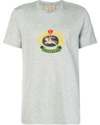 Burberry - Logo Graphic T-shirt - Lyst