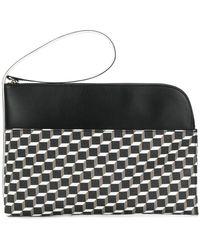Pierre Hardy - Cube Print Clutch Bag - Lyst