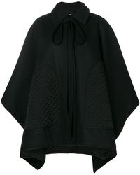 Nina Ricci - Quilted Patch Cape - Lyst