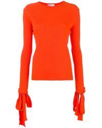 JW Anderson - Tied Sleeve Sweater - Lyst