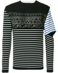 JW Anderson - Knit Mix Sweater - Lyst