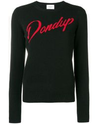 Dondup - Logo Fitted Sweater - Lyst