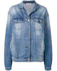 Amen - Printed Denim Jacket - Lyst