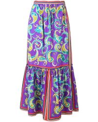 Philosophy Di Lorenzo Serafini - Paisley Print Skirt - Lyst