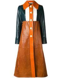 Marni - Colour-block Coat - Lyst