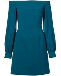 JILL Jill Stuart - Crepe Off The Shoulder Dress - Lyst