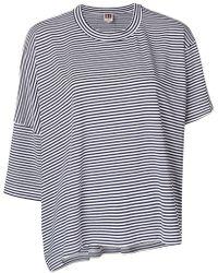 I'm Isola Marras - Striped Asymmetric T-shirt - Lyst