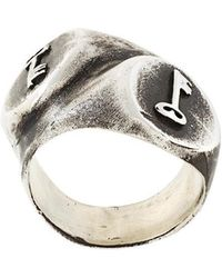 Henson - 'lost Keys Double Signet' Ring - Lyst