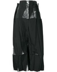 Issey Miyake Deconstructed Geometric Jumpsuit - Black