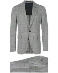 Tagliatore - Grid Check Suit - Lyst