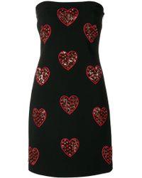 Philipp Plein - Embroidered Sleeveless Dress - Lyst