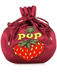 Hysteric Glamour - Pop Berry Drawstring Clutch Bag - Lyst