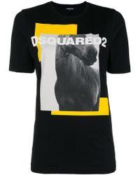 DSquared² - Horse Print T-shirt - Lyst