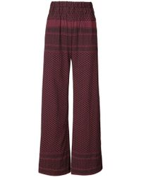 Cecilie Copenhagen   High-waisted Palazzo Trousers   Lyst