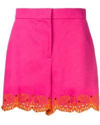 Emilio Pucci - Embroidered Shorts - Lyst