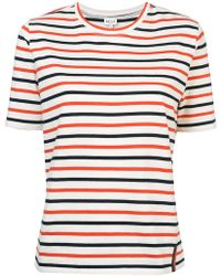 Kule - Striped Short-sleeve T-shirt - Lyst