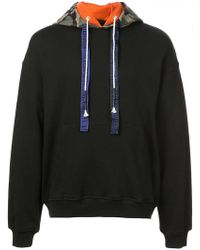 Mostly Heard Rarely Seen - Camouflage Detail Hoodie - Lyst