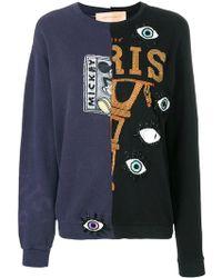 Night Market - Double Design Sequinned Sweatshirt - Lyst