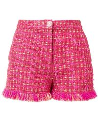 Boutique Moschino - Tweed Shorts - Lyst