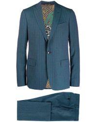 Etro - Karierter Anzug - Lyst