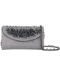 Casadei | Pearl Embellished Clutch | Lyst