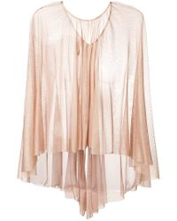 Maria Lucia Hohan - Floaty Tulle Cape - Lyst