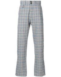 Vivienne Westwood Anglomania - Checked Trousers - Lyst