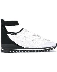 NO KA 'OI - Embellished Ankle Strap Sneakers - Lyst