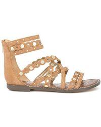 Sam Edelman - Geren Stud Embellished Strappy Sandals - Lyst