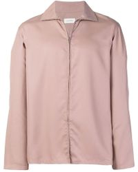 Lemaire - Zip Front Shirt - Lyst