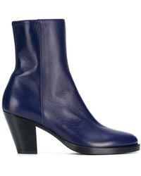 A.F.Vandevorst - Side Zip Ankle Boots - Lyst