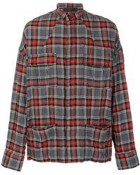 Haider Ackermann - Tartan Pocket Shirt - Lyst