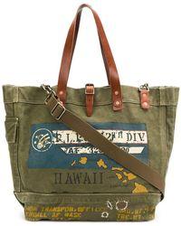Polo Ralph Lauren - Printed Tote Bag - Lyst