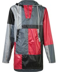 Mostly Heard Rarely Seen - Colour Block Hooded Coat - Lyst