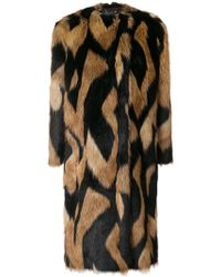 Givenchy - Faux Fur Coat - Lyst