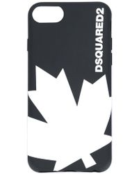 DSquared² - Canadian Leaf Iphone 6 Case - Lyst