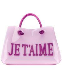 Alberta Ferretti - Je T'aime Shopping Tote Bag - Lyst