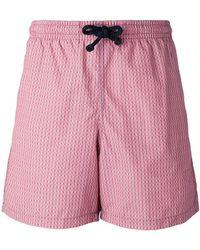 Fashion Clinic - Chain Print Swim Shorts - Lyst
