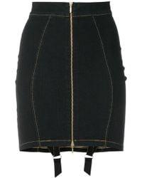 Murmur - Denim Candy Skirt - Lyst