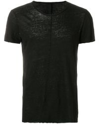 Poeme Bohemien | Distressed Slim Fit T-shirt | Lyst