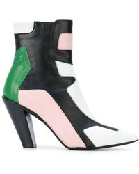 A.F.Vandevorst - Contrast Panel Ankle Boots - Lyst
