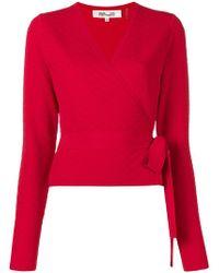 Diane von Furstenberg - Belted Sweater - Lyst