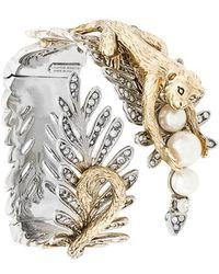 Alberta Ferretti - Monkey Leaf Bracelet - Lyst