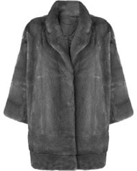 N.Peal Cashmere - Oversized Coat - Lyst