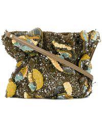 Jamin Puech - Sequinned Shoulder Bag - Lyst