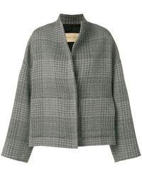 Christian Wijnants - Oversized Checked Jacket - Lyst