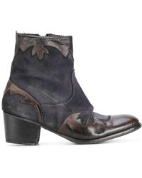 Ink - Cowboy Boots - Lyst