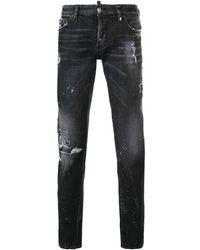 DSquared² - Ausgeblichene Jeans - Lyst
